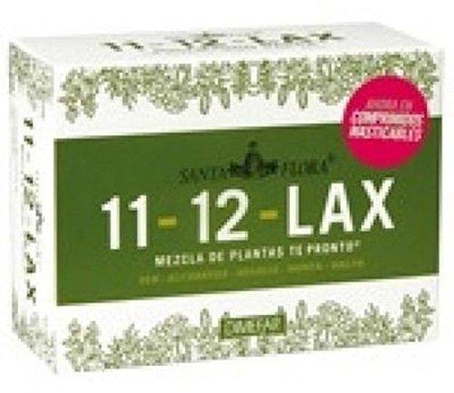 11-12 Lax Masticables Santa Flora 40 comprimidos de Dimefar