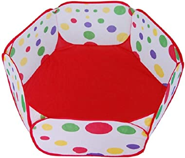 Garneck Kids Ball Pit Pop up Ball Pool Play Tent Ocean Pool Baby Tent Toddlers Playhouse Baby Crawl Playpen Creativity Imagination Early Learning 90cm