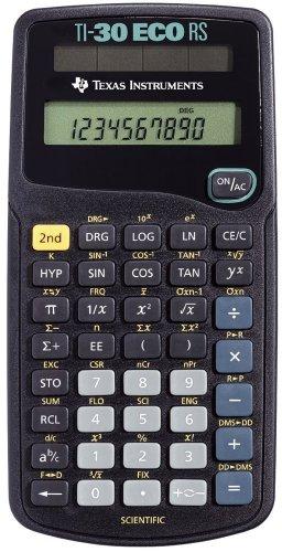 Taschenrechner TI-30 ECO RS, Solar-Energie, 79 x 153 x 18 mm