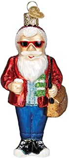 Old World Christmas Hipster Santa Ornament