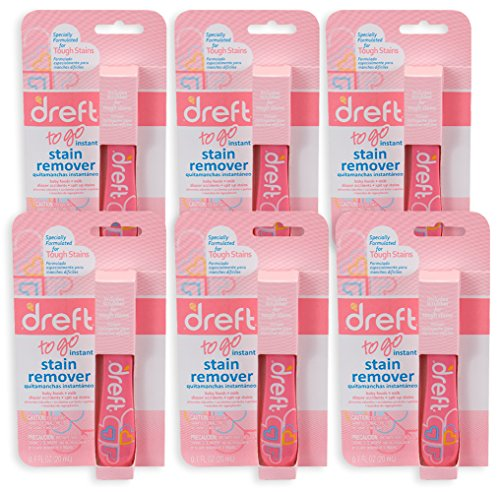Product Image of the Downy Dreft Pretreater Portable Stain Pen .7 oz, 6 Pack, Removes Tough Stains
