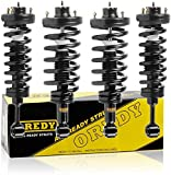 OREDY Shocks Struts Full Set of 4 Complete Struts Assembly Front Rear Shocks and Struts Coil Spring Suspension Struts 11380 171369 15080 181370 Compatible with Expedition/Navigator 2003 2004 2005 2006