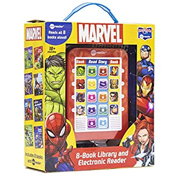 Marvel Super Heroes Spider-man Avengers Guardians and More! - Me Reader Electronic Reader with 8 Book Library - PI Kids
