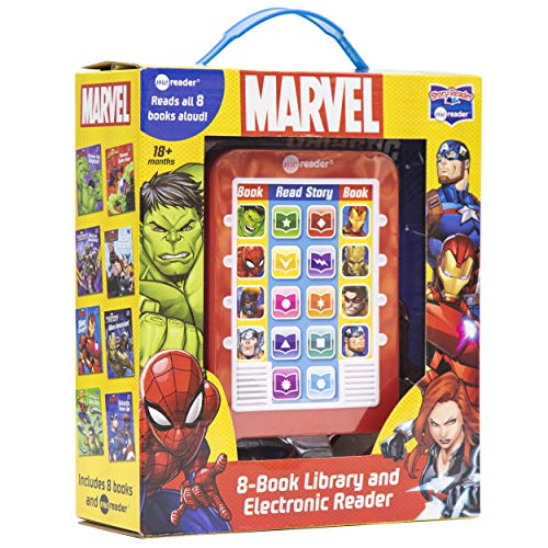 Marvel: 8-Book Library and Electronic Reader