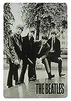 The Beatles POSE カブトムシ メタルポスター壁画ショップ看板ショップ看板表示板金属板ブリキ看板情報防水装飾レストラン日本食料品店カフェ旅行用品誕生日新年クリスマスパーティーギフト