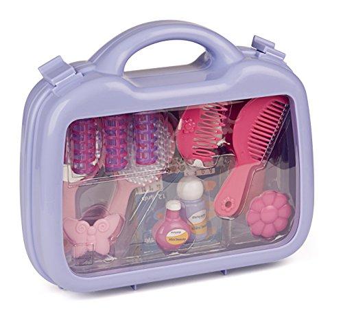 Miniland- Mini Beauty Juguete: maletín de Belleza, Color Rosa (97006)