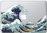 Great Wave Off Kanagawa Macbook Decal Mac Decal Macbook Pro Laptop Sticker Vinyl Decal Mac Apple Skin Full Color