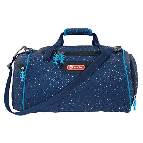 """Step by Step Sporttasche """"Skyrocket"""", blau, mit Nasswäschefach, Abnehmbarer Tragegurt, Verstellbarer Schultergurt, für Jungen 1. Klasse, 13L"""