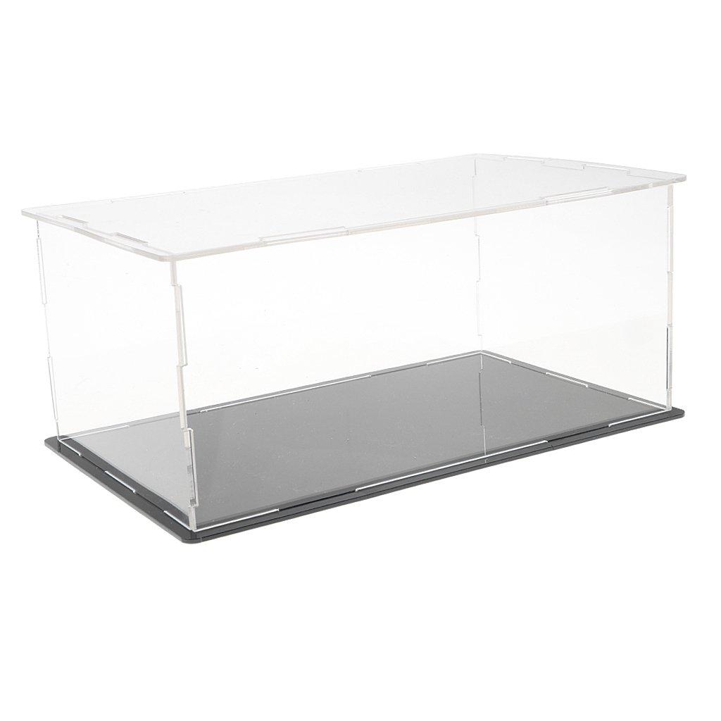 Schaukasten aus Kunststoff Ausstellungshaube Box Staubdicht Display Box//