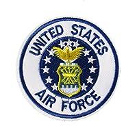 アイロンワッペン アメリカ ミリタリー (AIR FORCE)