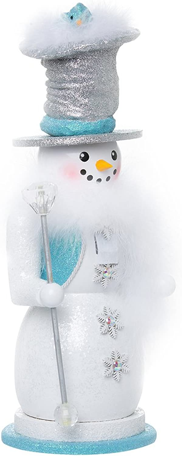 Kurt Adler 16  Hollywood Snowman Nutcracker
