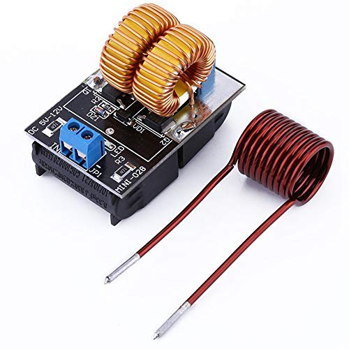 ZVS Driver Module 5V-12V ZVS Low Voltage Induction Heating Board+Heating Coil