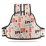 DOOK Multifunción Cinturón Seguridad para Niños Coche Eléctrico Cinturón Seguridad, Ajustable Motocicleta Montar Prueba Caída Arnés/Arnés Infantil