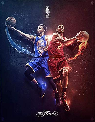 leomuzi - Puzle de baloncesto de Star (1000 piezas)