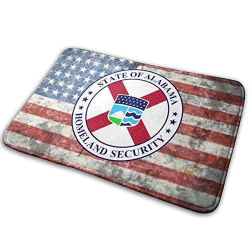 Alabama Homeland Security Act der Türmatte Rutschfeste Badematte Badezimmer Boden Teppichmatte 50cm * 80cm