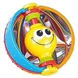 Bieco 41009053 - Bola de Espejo mágica con Espejo Integrado para Jugar y Descubrir sentidos, Pelota de Actividad para bebés y niños pequeños a Partir de 6 Meses, Multicolor