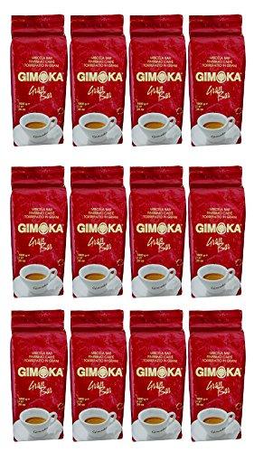 12 x Gimoka Gran Bar Kaffeebohnen 1kg (12kg Sparset)