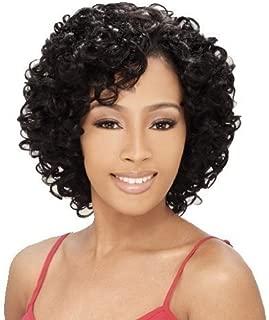 MilkyWay Que OPRAH 3PCS Human Hair MasterMix Weave Extension #1B Off Black