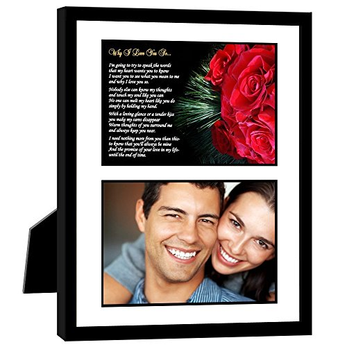 Valentine's day gift ideas for a new boyfriend include this cute frame.