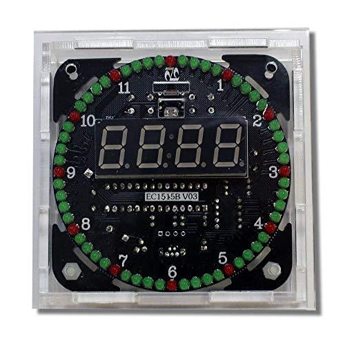yourDroid Bausatz: DS1302 Rotation LED Uhr mit Gehäuse