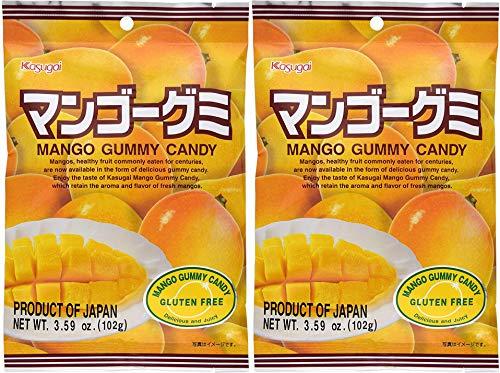 Japanese Fruit Gummy Candy from Kasugai - Mango - 102g