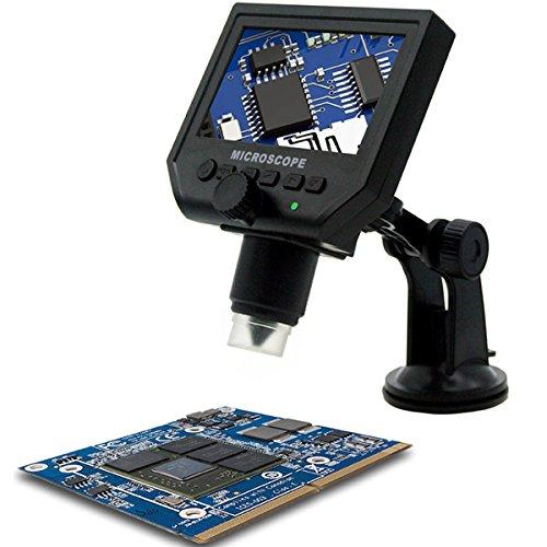 MXBIN Mustool G600 Lente di ingrandimento Continuo microscopio Portatile Digitale 1-600X 3.6MP Accessori per Utensili