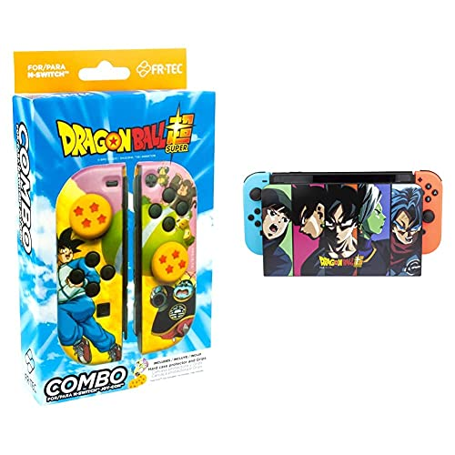 """Bandai Namco Combo Pack """"Dragon Ball Super"""" Other Nintendo Switch & Nintendo Switch Dock Cover """"Dragon Ball Super"""" per Switch Accessori Nswitch"""