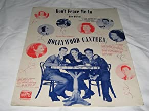 DON'T FENCE ME IN COLE PORTER 1944 SHEET MUSIC FOLDER 509 SHEET MUSIC