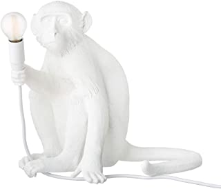 Seletti Monkey Lamp - Sitting White