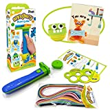 Spyrosity Super Quiller - Electric Quilling Tool - Coils 10+ Strips - Includes 100 Strips - for 7 Year Old Boys & Girls
