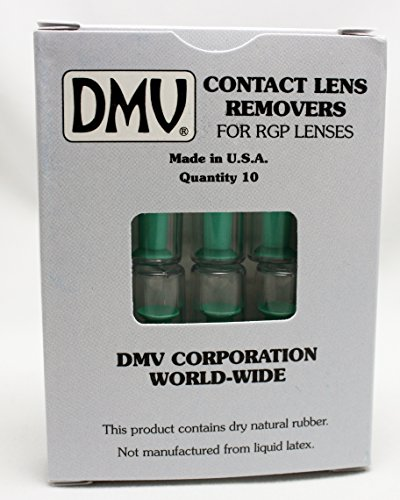 DMV Classic Vented Contact Handler - Inserts and Removes Hard and RGP Contact Lenses - Box of 10