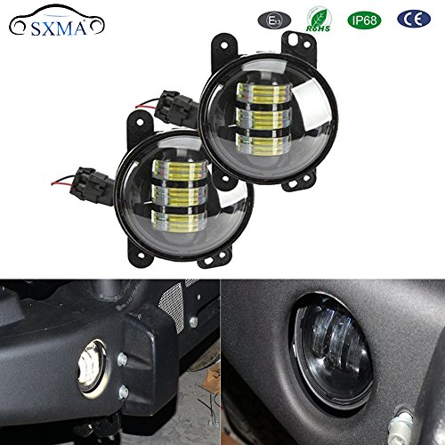 Sxma Emark 10,2 cm CREE LED Feux de Brouillard spot Faisceau pare-chocs avant lampe