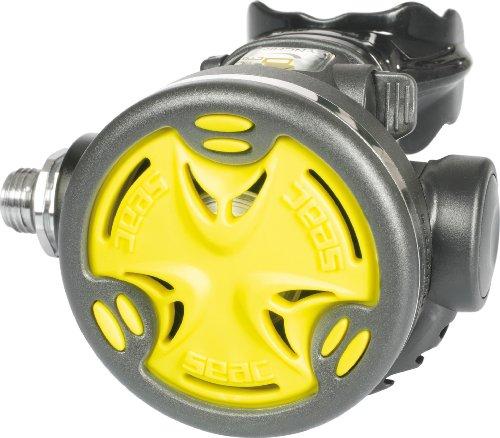 Seac Octo Synchro Tauchen Octopus, Gelb