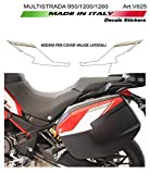 Vulturbike Aufkleber Für Cover Koffer - Ducati Multistrada 950/1200/1260