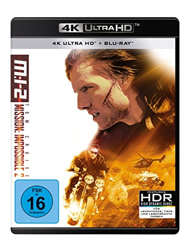 Mission: Impossible 2 - M:i-2 - 4K UHD [Blu-ray]