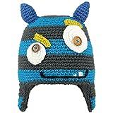 BARTS Monster Beanie pasamontaas, Gris (BLU Stile Mostro con Orecchie BLU), (Talla del...