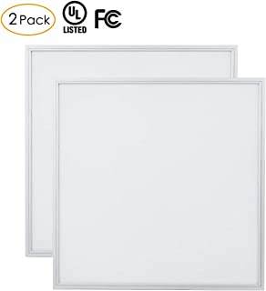 Ultra-Thin 2x2 FT Square Recessed LED Panel Light, 0.39