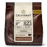 *Callebaut N° 823 (33,6%) - Cobertura de Xocolata amb Llet Belga - *Finest *Belgian *Milk Xocolata (*Callets) *400g