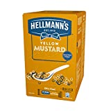 Hellmann's Mostaza sin Gluten 198 Mono Porciones, 10 ml, Pack de 1