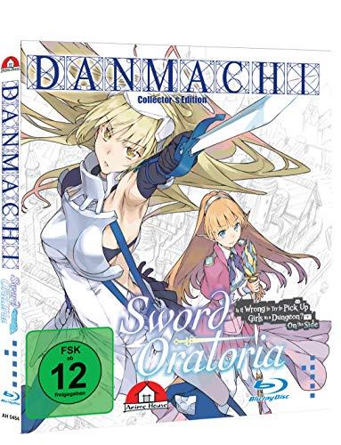 Danmachi - Sword Oratoria Blu-ray - Bundle mit Schuber und Notebooktasche - Collector\'s Edition