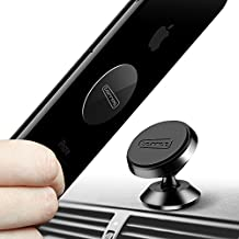 TORRAS Magnetic Car Mount, 360 Rotation Cell Phone Holder for Dashboard Compatible with iPhone SE/ 11 Pro Max/ X /8, Samsung Galaxy S20/ S10/ S9, More