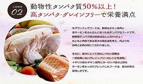 モグワンドッグフードチキン&サーモン(1.8kg)