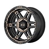 XD Series Spy Custom Wheel - 20x10, 18 Offset, 6x139.7 Bolt Pattern, 106.25mm Hub - XD840 II Series Satin Black with Tinted Clear Coat Rims