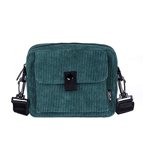 Bfmyxgs Fashion Bag für Frauen Mädchen Canvas Umhängetasche Fashion Trend vielseitige Messenger Tasche Rucksack Schultertasche Handtasche Totes Münze Tasche Taille Beutelpackung Brust