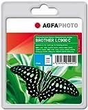 AgfaPhoto LC900C cartucho de tinta Cian