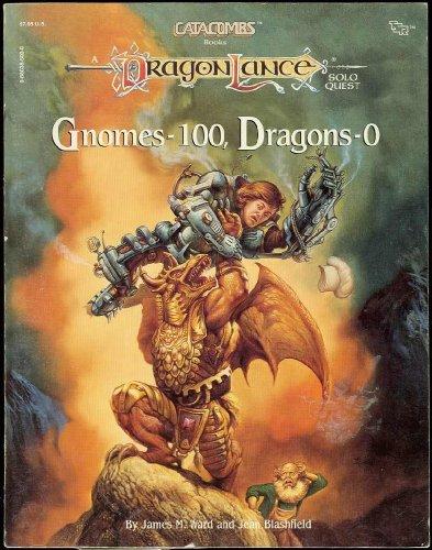 GNOMES--100 DRAGONS--0 (CATACOMBS GAMEBOOK NO 2)