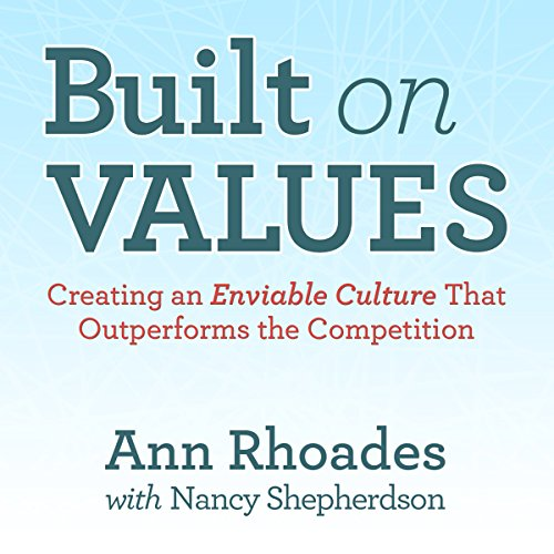 Built on Values audiobook cover art