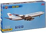 Modelsvit msvit7205–Maqueta de Ilyushin II de 86Aeroflot Airliner, Gris