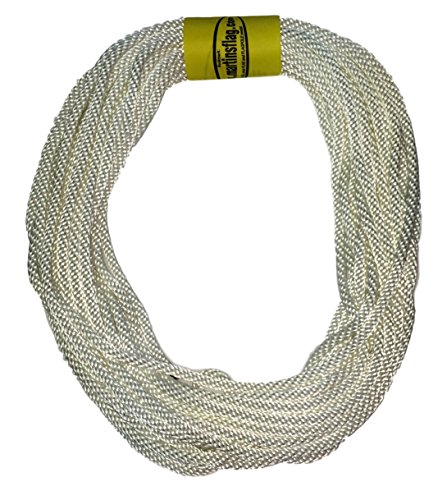 Flagpole Rope 5/16' in Various Lengths, Made in The USA, Designed for Flagpoles, Available (60 Feet)