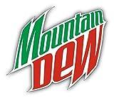 valstick Mountain Dew Logo Car Bumper Sticker Decal